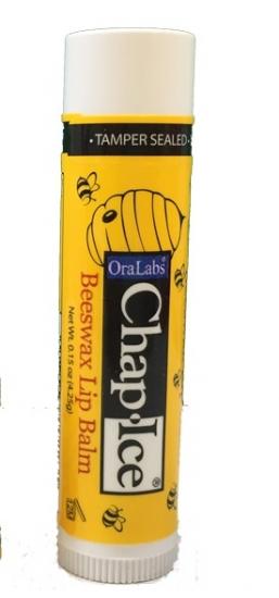 Фото - Бальзам OraLabs Chap Ice Lip Balm Beeswax 4,25 г купить в киеве на подарок, цена, отзывы