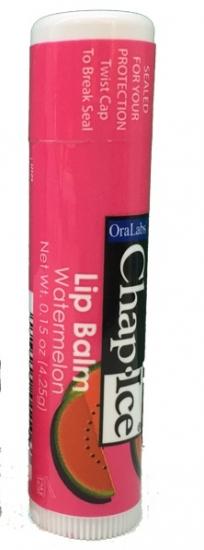 Фото - Бальзам OraLabs Chap Ice Lip Balm Watermelon 4,25 г (Арбуз) купить в киеве на подарок, цена, отзывы