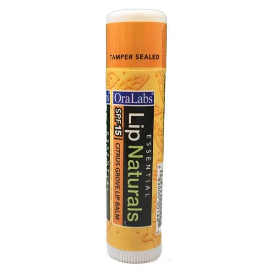 Фото - Бальзам OraLabs Essential Naturals Citrus Grove Lip Balm 4,25 г (Цитрус) купить в киеве на подарок, цена, отзывы