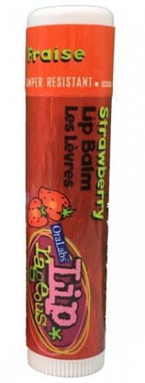 Фото - Бальзам OraLabs Rageos Lip Balm Strawberry 4,25 г (Клубника) купить в киеве на подарок, цена, отзывы
