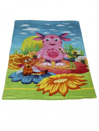 Фото - Полотенце для тела Лунтик 100х150 см купить в киеве на подарок, цена, отзывы