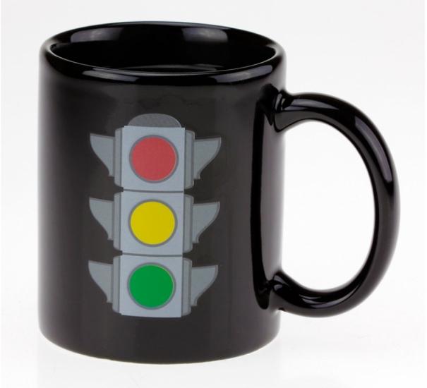Фото - Чашка хамелеон Светофор купить в киеве на подарок, цена, отзывы