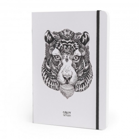 Фото - Скетчбук Тигр купить в киеве на подарок, цена, отзывы