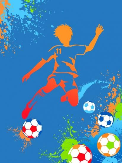 Фото - Плед флисовый Футболист 4YOU 150х200 см купить в киеве на подарок, цена, отзывы