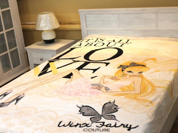 Фото - Плед микрофибра-панно Winx Fairy Стелла 150х200 см  купить в киеве на подарок, цена, отзывы