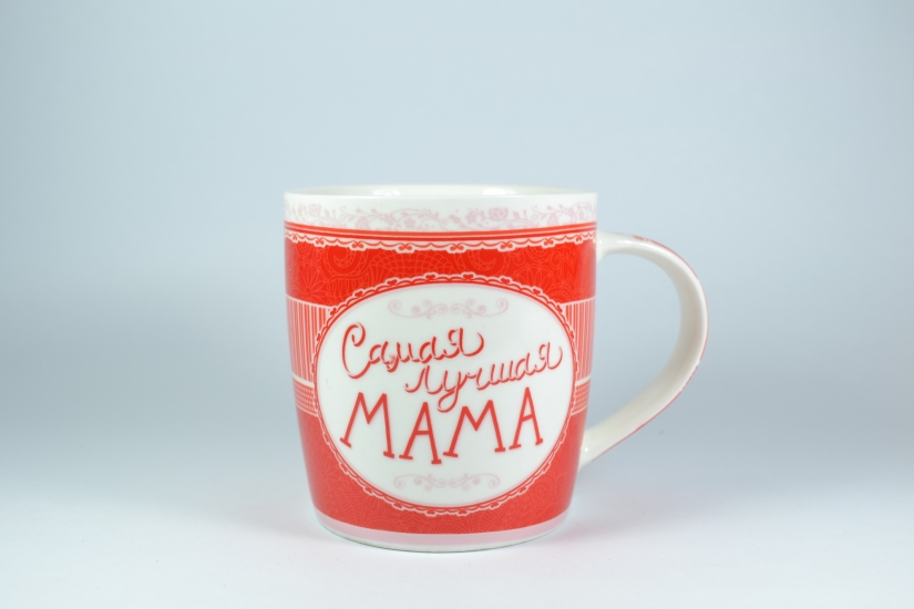 Фото - Фарфоровая чашка для Мамы купить в киеве на подарок, цена, отзывы