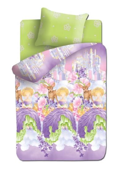Фото - Постельное белье детское полуторное Непоседа Принцесса в облаках купить в киеве на подарок, цена, отзывы