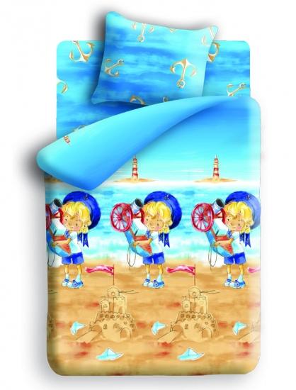 Фото - Постельное белье детское полуторное Непоседа Морячок купить в киеве на подарок, цена, отзывы