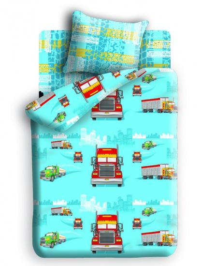 Фото - Постельное белье детское полуторное Непоседа Хайвэй купить в киеве на подарок, цена, отзывы