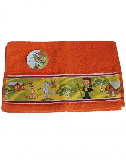 Фото - Полотенце детское махровое Союзмультфильм 35х70 см купить в киеве на подарок, цена, отзывы