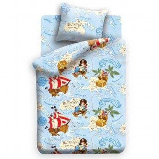 Фото - Постельное белье детское полуторное Колыбельная мечты Остров сокровищь купить в киеве на подарок, цена, отзывы