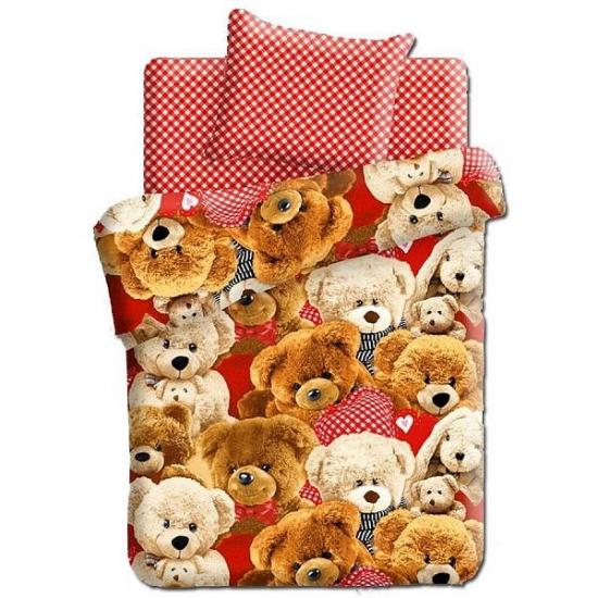 Фото - Постельное белье детское полуторное Колыбельная мечты Плюшевые медведи купить в киеве на подарок, цена, отзывы