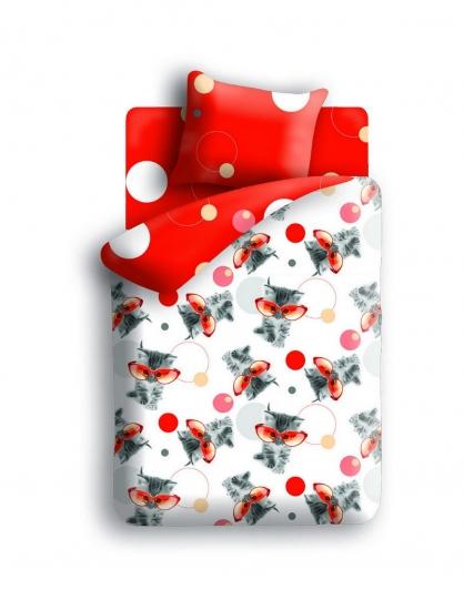 Фото - Комплект постельного белья полуторный For You Оранж купить в киеве на подарок, цена, отзывы