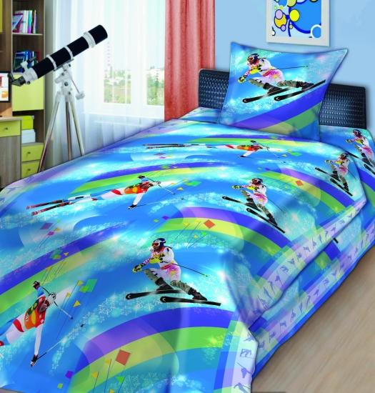 Фото - Комплект постельного белья полуторный For You слалом купить в киеве на подарок, цена, отзывы