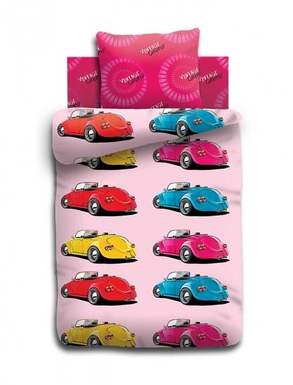 Фото - Комплект постельного белья полуторный For You Жуки купить в киеве на подарок, цена, отзывы