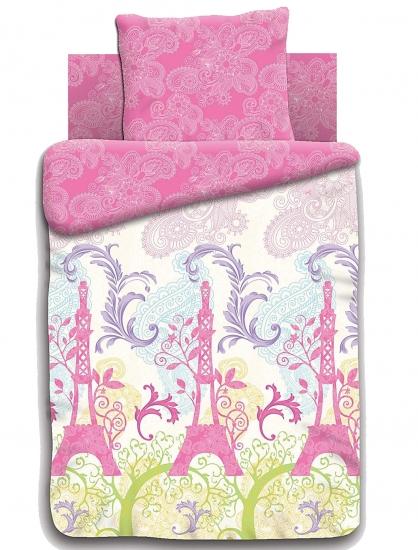 Фото - Комплект постельного белья полуторный For You Мечты о Париже купить в киеве на подарок, цена, отзывы