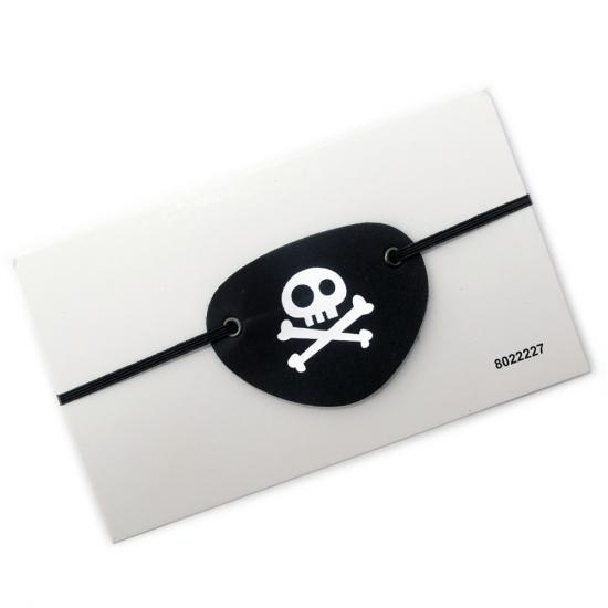 Фото - Кожаная повязка пирата на глаз купить в киеве на подарок, цена, отзывы