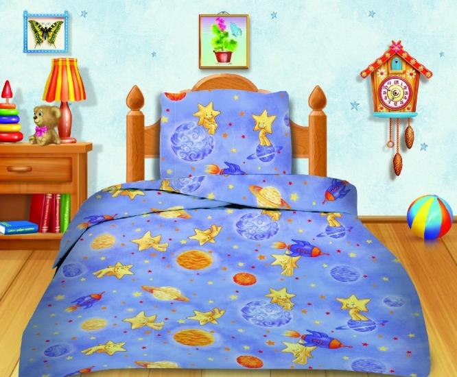 Фото - Комплект постельного белья полуторный Кошки-мышки Космостар купить в киеве на подарок, цена, отзывы