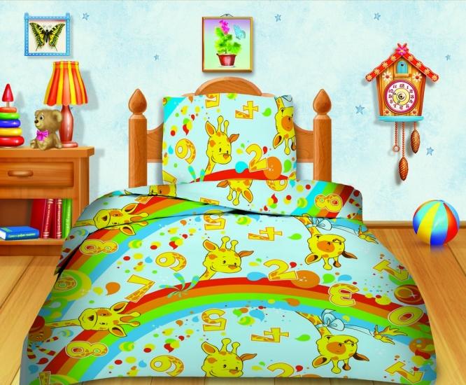 Фото - Комплект постельного белья полуторный Кошки-мышки Веселый счет купить в киеве на подарок, цена, отзывы