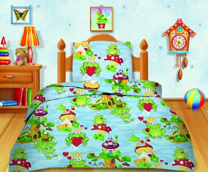 Фото - Комплект постельного белья полуторный Кошки-мышки Царевна-лягушка  купить в киеве на подарок, цена, отзывы