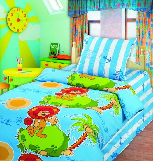 Фото - Комплект постельного белья полуторный Союзмультфильм Необитаемый остров купить в киеве на подарок, цена, отзывы