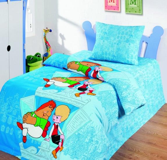 Фото - Комплект постельного белья полуторный Союзмультфильм На крыше купить в киеве на подарок, цена, отзывы
