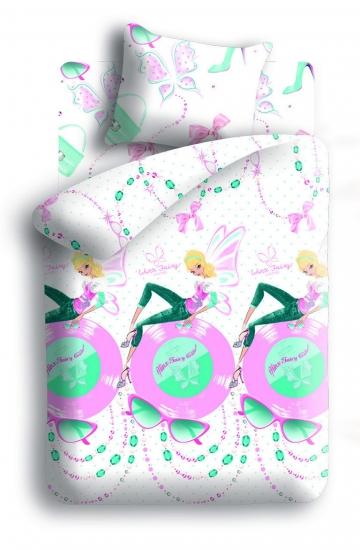 Фото - Комплект постельного белья полуторный Winx Fairy Couture Vinyl купить в киеве на подарок, цена, отзывы