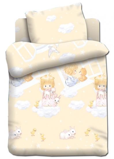 Фото - Постельное белье для детей в детскую кроватку Непоседа Ангелочки купить в киеве на подарок, цена, отзывы
