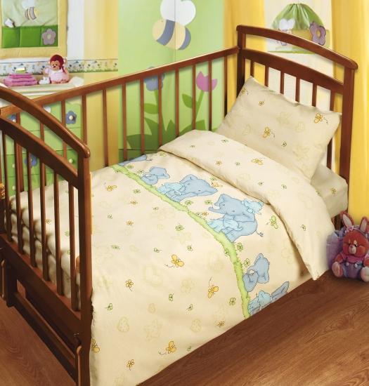 Фото - Постельное белье для детей в детскую кроватку Непоседа Нежность купить в киеве на подарок, цена, отзывы
