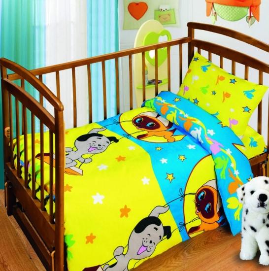 Фото - Комплект постельного белья детский Союзмультфильм Лунные качели купить в киеве на подарок, цена, отзывы
