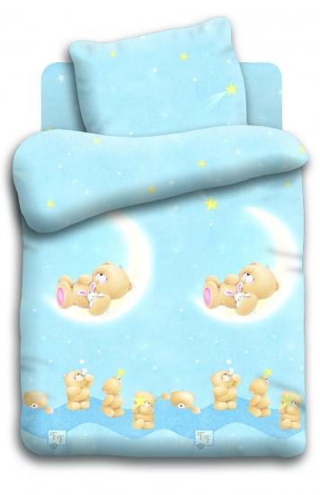 Фото - Постельное белье для детей Forever Friends Лунный мишка купить в киеве на подарок, цена, отзывы