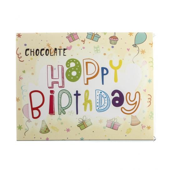 Фото - Шоколадный набор Happy birthday купить в киеве на подарок, цена, отзывы