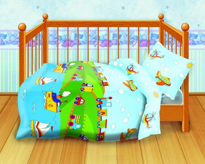 Фото - Комплект постельного белья детский Кошки-мышки Веселая поездка купить в киеве на подарок, цена, отзывы