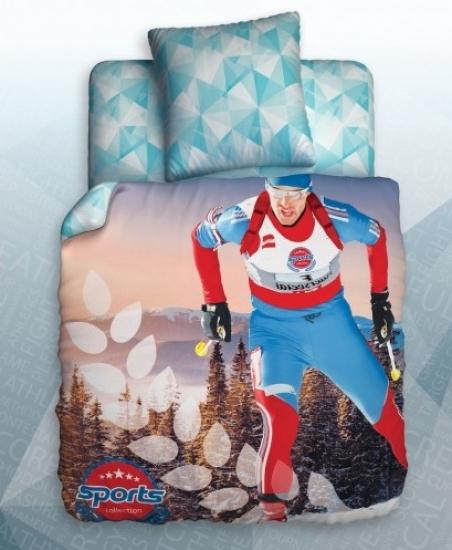 Фото - Постельное белье полуторное Unison Teens Biathlon купить в киеве на подарок, цена, отзывы