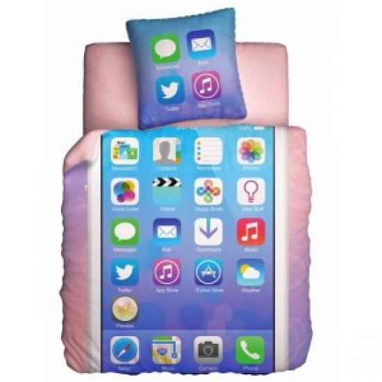 Фото - Постельное белье полуторное Unison Teens Glamour Phone купить в киеве на подарок, цена, отзывы