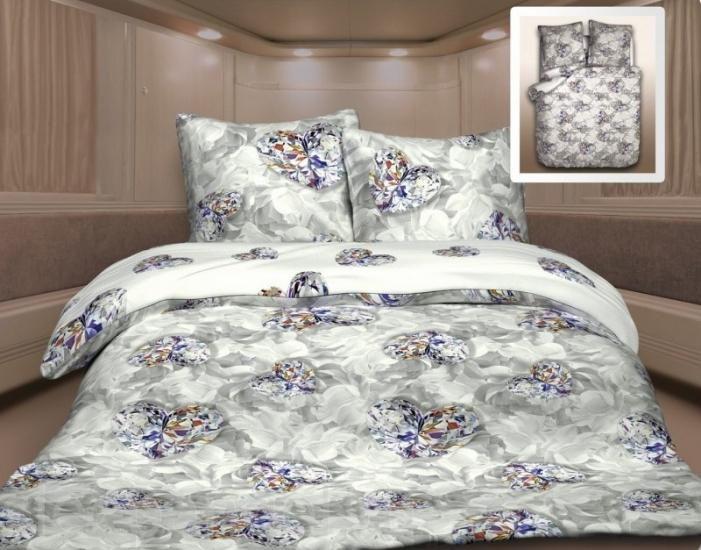 Фото - Постельное белье двуспальное Unison Бриллиант купить в киеве на подарок, цена, отзывы
