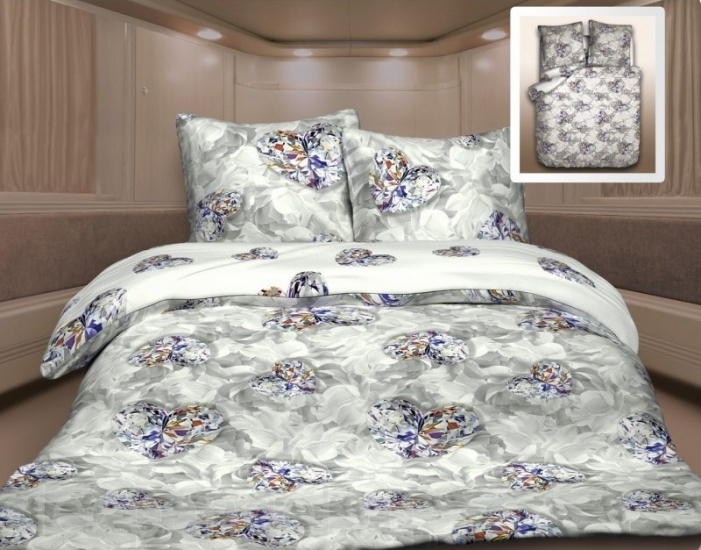 Фото - Постельное белье семейное Unison Бриллиант купить в киеве на подарок, цена, отзывы