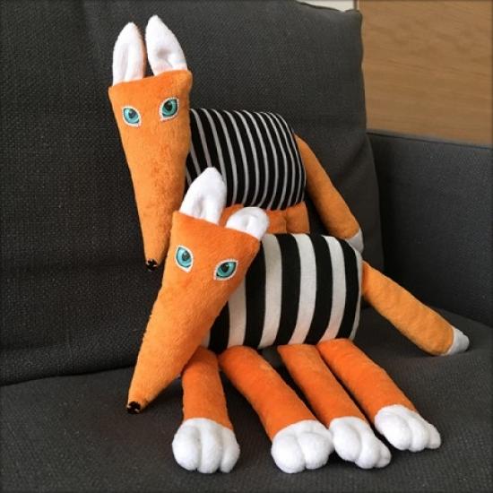 Фото - Эко игрушка Лиса-краса купить в киеве на подарок, цена, отзывы