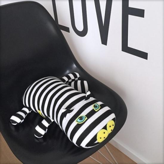 Фото - Эко игрушка Котенок в тельняшке купить в киеве на подарок, цена, отзывы
