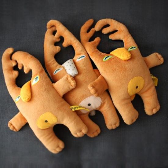 Фото - Эко игрушка Кролени купить в киеве на подарок, цена, отзывы