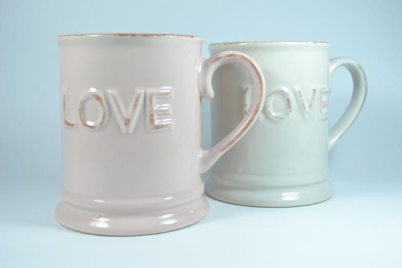 Фото - Керамическая кружка LOVE 320мл купить в киеве на подарок, цена, отзывы