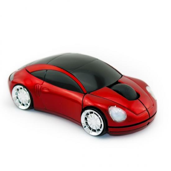 Фото - Компьютерная безпроводная мышка Машинка купить в киеве на подарок, цена, отзывы