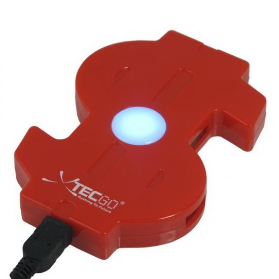 Фото - Хаб USB Доллар купить в киеве на подарок, цена, отзывы