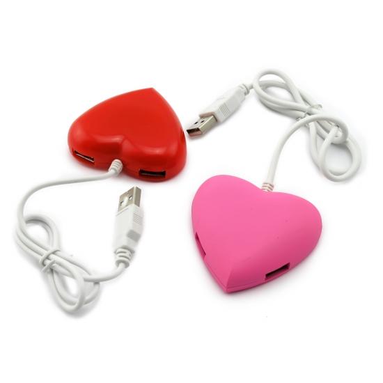 Фото - Хаб USB Сердечко купить в киеве на подарок, цена, отзывы