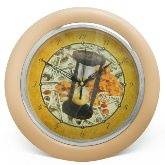 Фото - Часы идут в обратную сторону Время-деньги купить в киеве на подарок, цена, отзывы