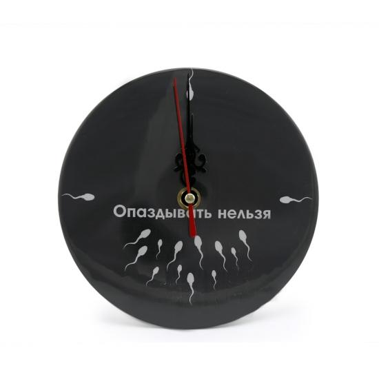 Фото - Часы настольные Опаздывать нельзя купить в киеве на подарок, цена, отзывы