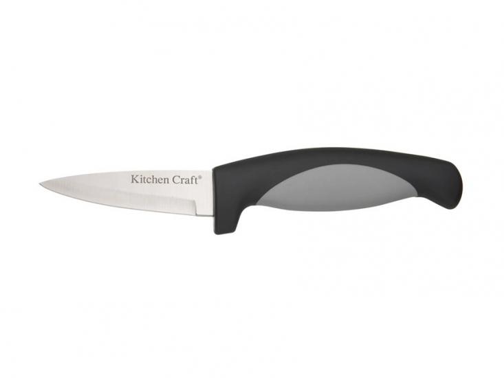 Фото - KC Easy Grip Нож для чистки овощей 8 см купить в киеве на подарок, цена, отзывы