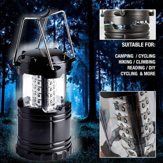 Фото - Светодиодный кемпинговый фонарь купить в киеве на подарок, цена, отзывы