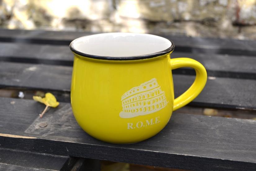 Фото - Чашка кувшин Желтая City Zakka  купить в киеве на подарок, цена, отзывы