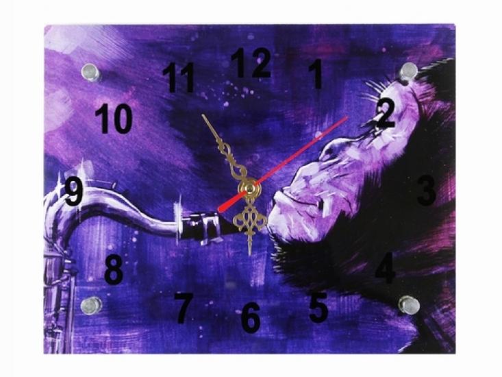 Фото - Подарочные часы Стильный джаз купить в киеве на подарок, цена, отзывы